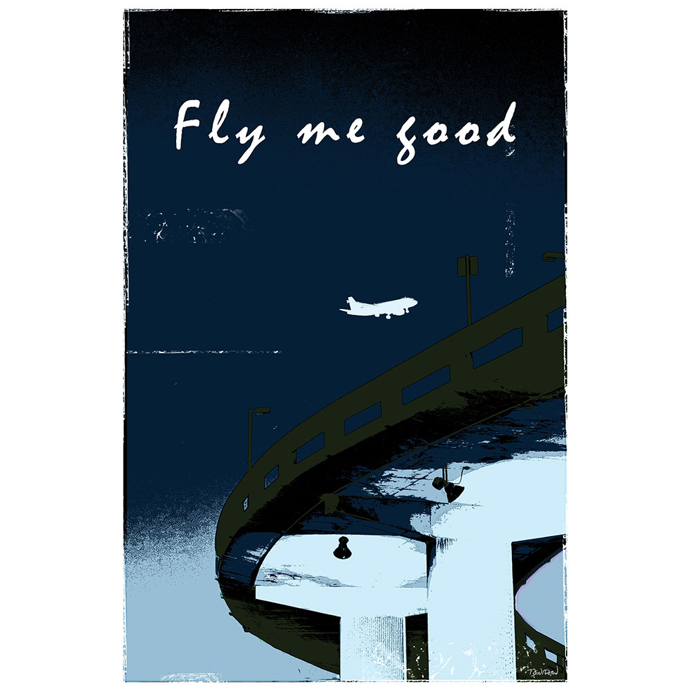 FLY ME GOOD - bleu