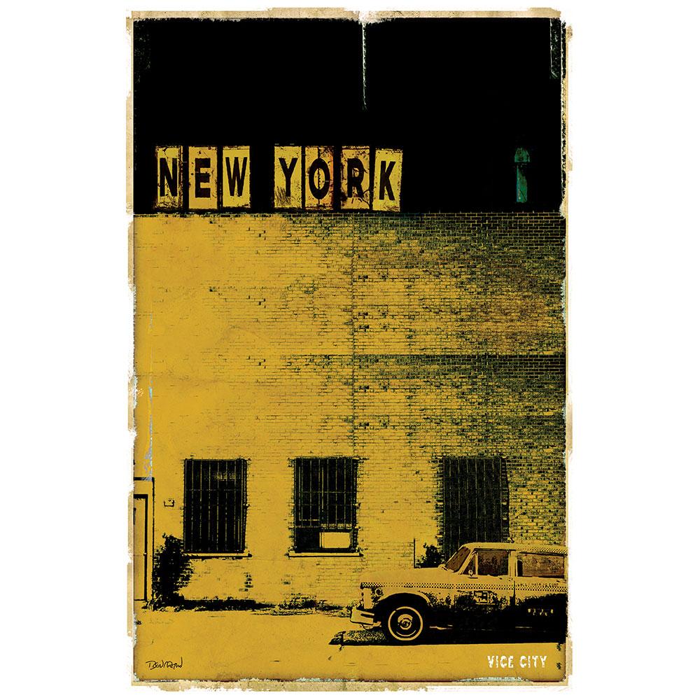 NEW YORK VICE CITY - jaune
