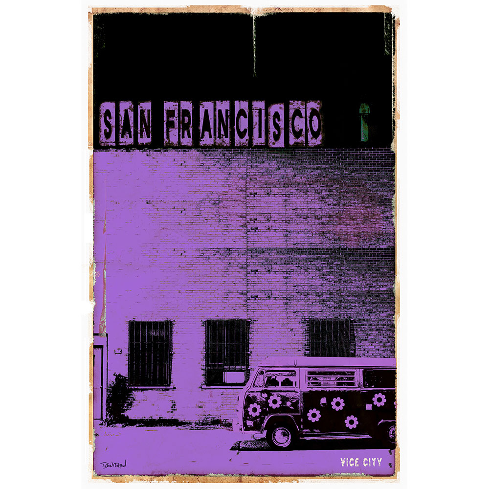 SAN FRANCISCO VICE CITY - mauve