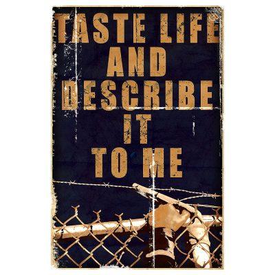 TASTE LIFE I - orange